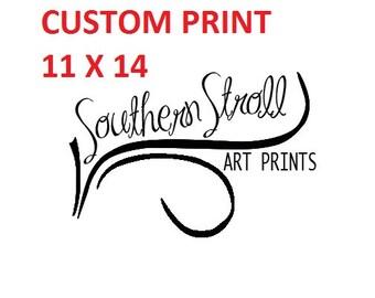 Custom Print 11 X 14 - Fine Art Print, Landscape Photography