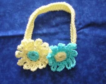 Cute Little Flowered Headband
