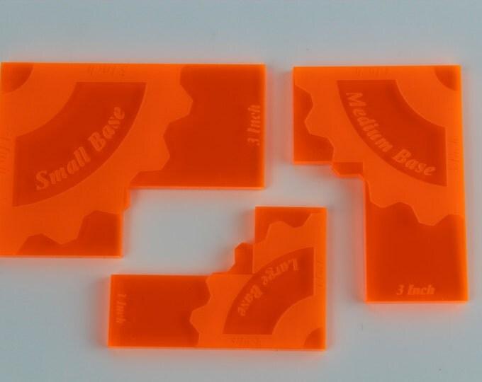 Neon Orange -  War Machine Blast Keys 3 Pack