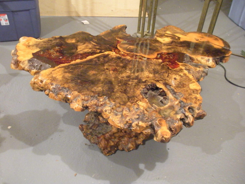 large rare original star dust burlwood coffee