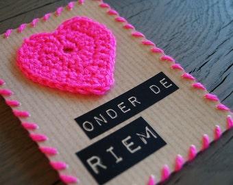 Greeting card |  Heart