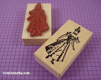 Sabine Stamp / Invoke Arts Collage Rubber Stamps