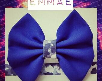 Emmae Bow Homemade Headband
