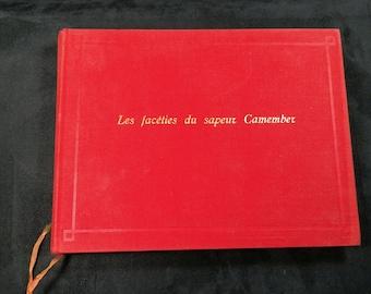 "Book ""Les Facéties du Sapeur CAMEMBER"" by Christophe | Reissue of the best book Paris Club 1958."