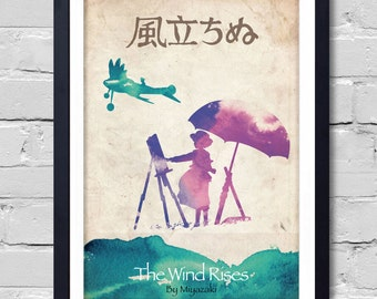 The Wind Rises. Poster