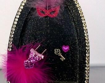 Midnight Diva Princess Fairy door