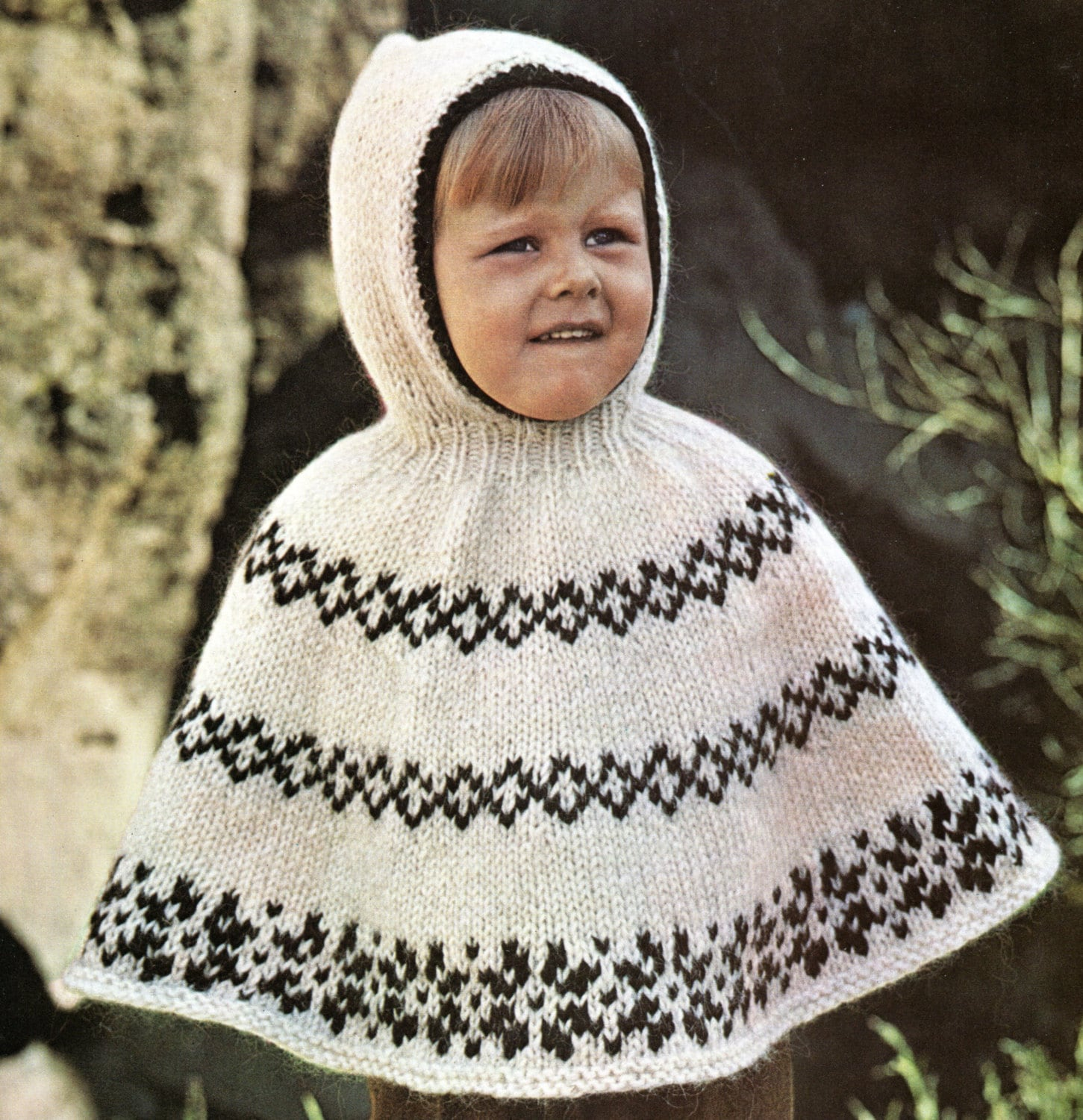 Poncho cape with hood knitting pattern child toddler hooded poncho poncho cape with hood knitting pattern child toddler hooded poncho knitting pattern pdf instant download bankloansurffo Image collections