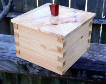 Keepsake Box Cypress and Maple