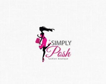 Custom Character Logo Design / Fashion Girl