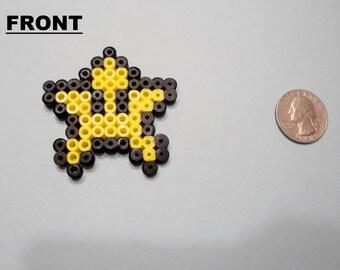 Mario Star Perler Bead Sprite