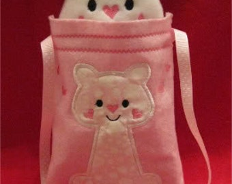 Snugglesack Socks Carrier Embroidery Machine Design for the 5x7 hoop