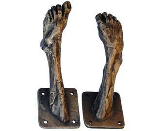 Bronze Foot Coat Hook 5