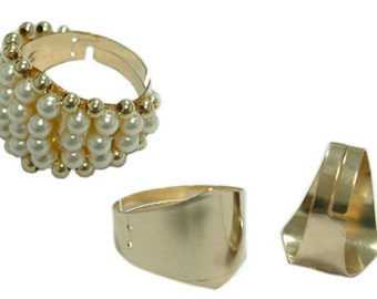 Gold Filled Rombo Ring - Fully Adjustable