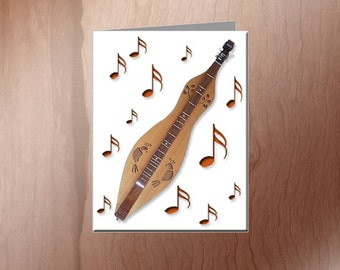 Mountain Dulcimer Note Cards