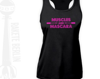 Fitness Sport Top 'Muscles and Mascara'