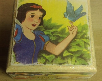 Snow White Wooden Keepsake Box