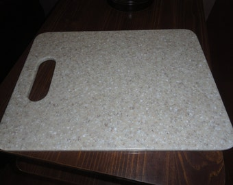 cutting board made from solid surface, handmade, trivet