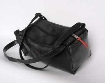 LH-bags upcycled shoulder bag / backpack