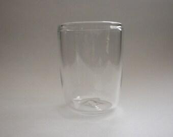 Blown Clear Glass Tumbler