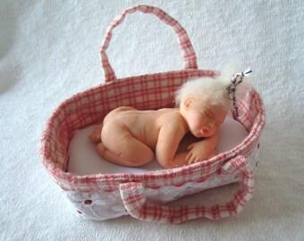 OOAK Polymer Clay Baby Girl