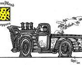 b&w classics low truck il...