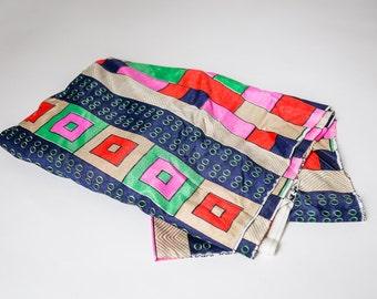 ON SALE!! Vintage Geometric Fabric, New Old Stock
