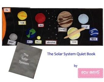 Solar System Quiet Book