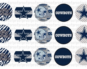 Dallas Cowboys Inspired Bottle Cap Images