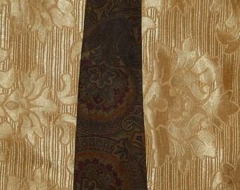 Genuine vintage Christian Dior tie / 100% silk