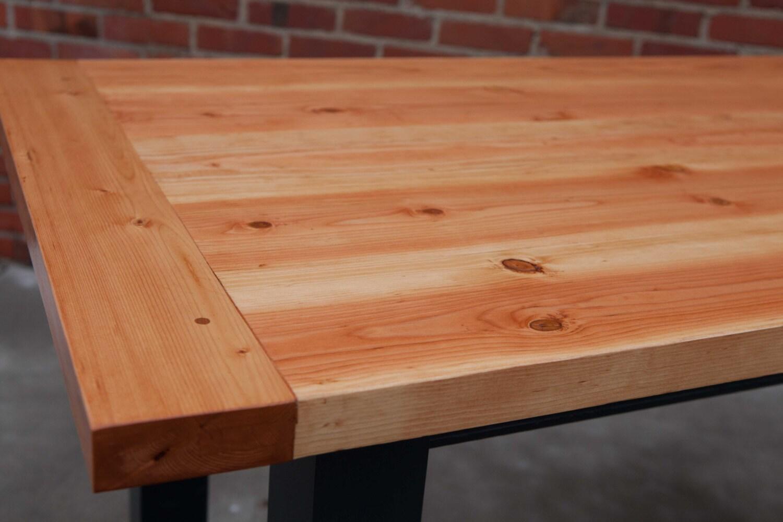 farmhouse table farm table thick top table harvest table