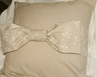 Pillow with Ribbon