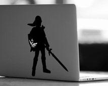 Zelda Decal, Link Decal, Zelda Macbook Decal, Link Macbook Decal, MacBook Pro, Legend of Zelda Skin, Link Skin, Zelda Sticker, Nintendo Skin