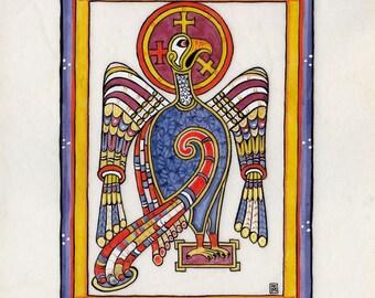 St John's Eagle Illumination