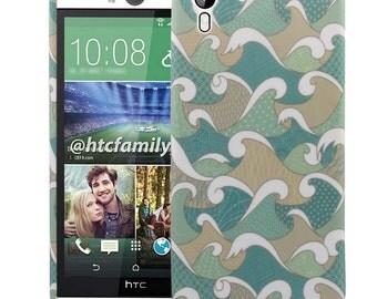 HTC Desire Eye Case, Fickle Tide TPU Silicone SkinPhone Case Cover