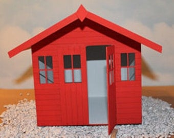 Miniature Beach Hut Etsy