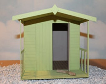 Miniature Beach Hut Etsy