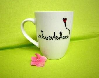 SIS Cup coffee cup coffee cup mug (Nr. 1)