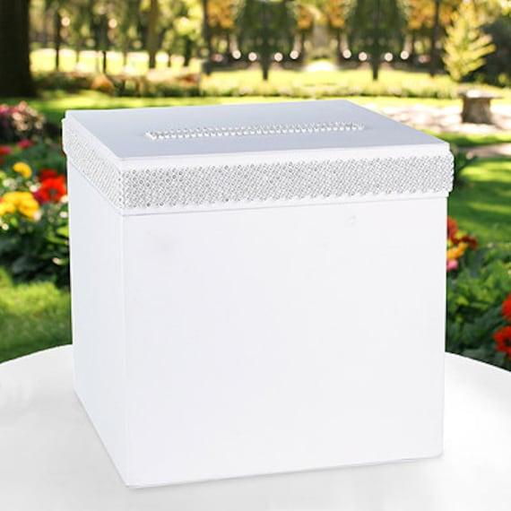 Elegant Wedding Gift Card Box : Elegant Card Box Wedding Box Gift Box Wedding Reception ...