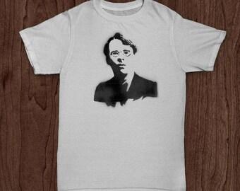 William Butler Yeats (Custom Author T-Shirt)