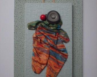 Handiwork - Clown - 3D mural