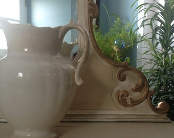 D.E. McNicol water pitcher, antique water pitcher