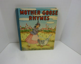 Vintage Mother Goose Rhymes Book - No. 852