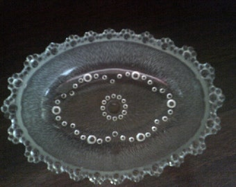 Aderia Glass Oval Serving Bowl