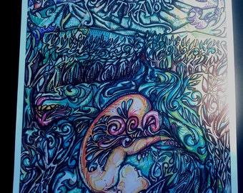Mantrabash 2014 Festival Poster