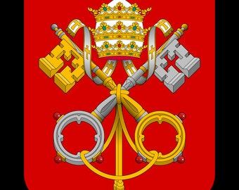 24x36 Poster; Coat Of Arms Of The Holy See