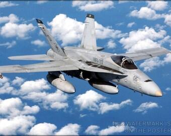 24x36 Poster; Fa-18 Hornet
