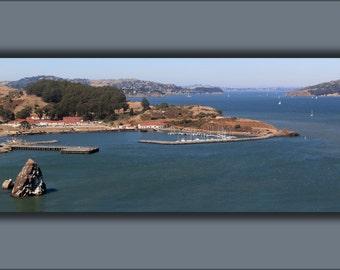24x36 Poster; Fort Baker On San Francisco Bay