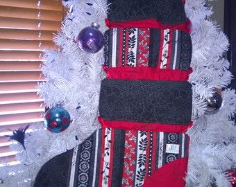 Extendable Christmas stocking