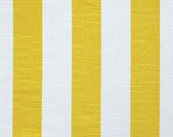 yellow and white curtains etsy