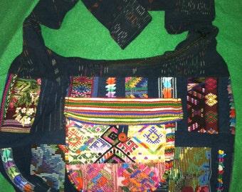 Guatemalan Guipile Patchwork Bag